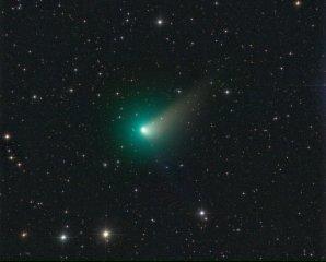 Kometa C/2015 V2 (Johnson) na snímku Michaela Jägera Autor: Michael Jäger