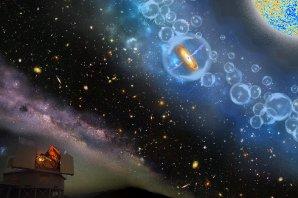 Umělecké ztvárnění objevu nejvzdálenější supermasivní černé díry Autor: Robin Dienel, Carnegie Institution for Science