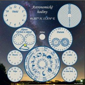 Astronomické hodiny v Třebíči ještě před instalací ručiček Autor: Jana Švihálková