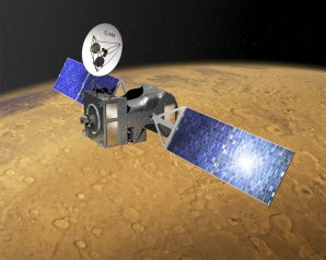 Evropská sonda TGO na oběžné dráze kolem Marsu Autor: ESA–D. Ducros