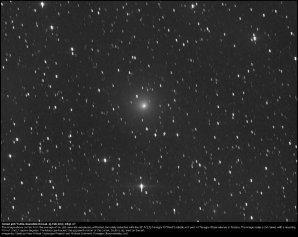 Kometa 41P/Tuttle-Giacobini-Kresák na snímku z 25. 2. 2017 Autor: Virtual Telescope Project