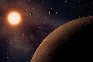Soustava tří super-Zemí u hvězdy GJ 9827 Autor: NASA/JPL-Caltech