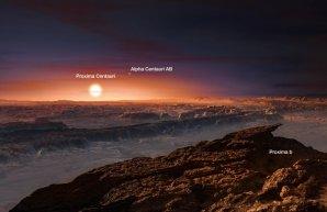 Exoplaneta Proxima Centauri b v představě výtvarníka Autor: ESO/M. Kornmesser