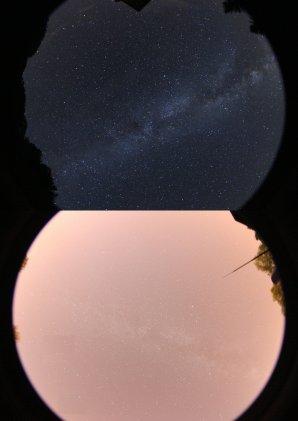 Porovnání oblohy na tmavých lokalitách Slovenska s městskou oblohou v Žilině Autor: Miroslav Znášik