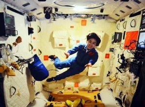 První čínská kosmonautka Liu Yang v prostorách stanice Tiangong 1 v červnu 2012 Autor: www.spacefacts.de