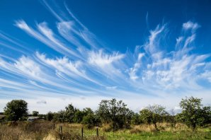 Cirrus – tato oblaka mohou znamenat příchod teplé fronty Autor: Shutterstock