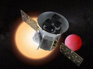 Kosmická observatoř TESS k objevování nových exoplanet Autor: NASA/GSFC
