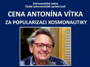 Cena Antonína Vítka Autor: Astronautická sekce ČAS