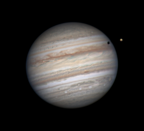 Jupiter a Io Autor: Pavel Prokop