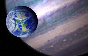 Potenciálně obyvatelný exoměsíc v cizí planetární soustavě Autor: NASA GSFC: Jay Friedlander and Britt Griswold