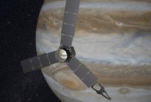 Kosmická sonda Juno nad oblačností planety Jupiter Autor: NASA