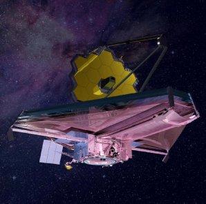 JWST v představě výtvarníka Autor: NASA