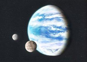 Vodní planeta v představě výtvarníka Autor: Wikipedia Commons/Lucianomendez