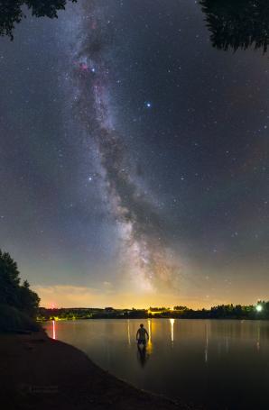 Staří Inkové věřili, že Mléčná dráha je součástí koloběhu pozemské vody... Autor: Petr Horálek.