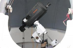 """Teleskop Celestron 9,25"""", Hvezdáreň Júlia Autor: V. Bahýl"""