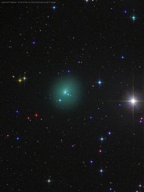 Kometa 46P Wirtanen z 18. října 2018. Autor: Rolando Ligustri.