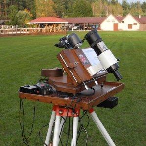 Paralaktický stolek Fastron pro astrofotografii Autor: Jaromír Ciesla