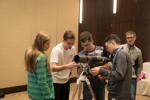 Čeští reprezentanti se připravují na pozorovací kolo Autor: Planetarium Beijing