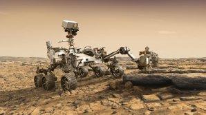 Připravovaná zdokonalená americká pojízdná laboratoř Mars 2020 Autor: NASA
