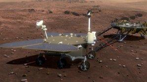 Ilustrační snímek plánovaného čínského roveru Mars 2020 Autor: Xinhua