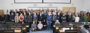 Společná fotografie účastníků 50. konference o výzkumu proměnných hvězd Autor: Martin Mašek