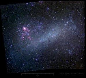 Velký Magellanův oblak Autor: AstroPixels.com