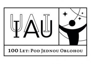 Logo 100 let Mezinárodní astronomické unie Autor: IAU