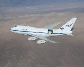 Stratosférická létající observatoř SOFIA Autor: NASA