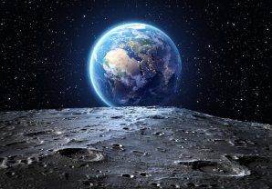 Země při pohledu z Měsíce Autor: Arvin/Adobe Stock