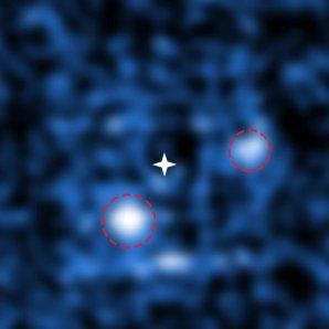 Přímé zobrazení dvojice exoplanet obíhajících kolem mladé hvězdy PDS 70 spektrografem MUSE Autor: ESO/S. Haffert, Leiden Observatory