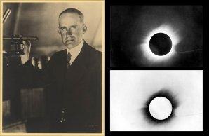 """Arthur Eddington a """"jeho"""" zatmění 29. května 1919. Autor: Wiki."""