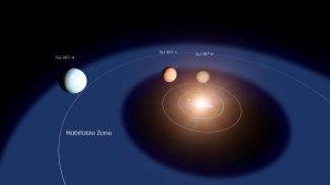 Soustava planet kolem červeného trpaslíka GJ 357 Autor: NASA's Goddard Space Flight Center/Chris Smith