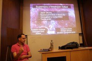 Ondra Pejcha a jeho astrocoffe a supernovy Autor: Martin Mašek
