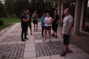 Účastníci praktika marně vyhlížejí jasnou oblohu Autor: Martin Mašek