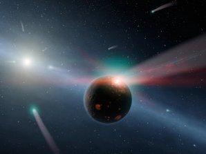 Komety mohly na Zemi dopravit látky potřebné pro vznik života Autor: NASA/JPL-Caltech