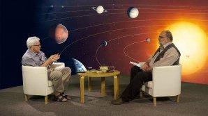 Jiří Grygar s moderátorem Jindřichem Suchánkem na TV Noe Autor: TV Noe