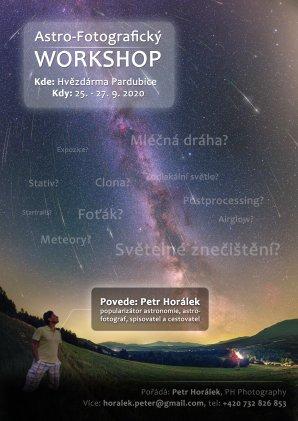 Kurz krajinářské astrofotografie 25. - 27. září 2020. Autor: Petr Horálek.
