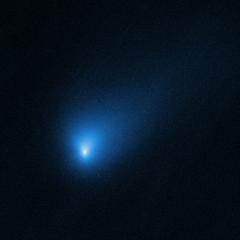 Kométa 2I/Borisov, 12. októbra 2019, HST Autor: NASA, ESA a D. Jewitt (UCLA)