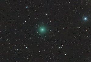 Kometa C/2019 Y4 (ATLAS) 14. března 2020, 42×30s, ISO12800, Canon 6D, Orion CT8, Autor: Martin Gembec