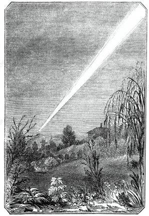 Velká kometa roku 1844. Autor: Sciencephoto.com