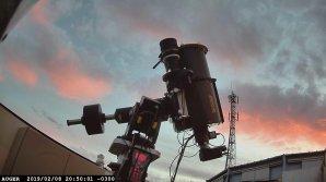Robotický dalekohled FRAM na Observatoři Pierra Augera v Argentině Autor: FZU - Fyzikální ústav AV ČR