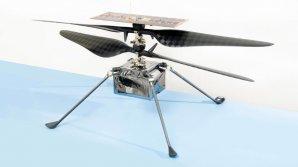 Letový model helikoptéry NASA s názvem Ingenuity Autor: NASA/JPL-Caltech