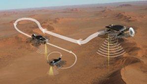 Dragonfly bude zkoumat prostředí na Saturnově měsíci Titan Autor: NASA/JHUAPL