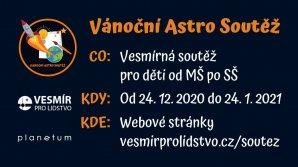 Vánoční Astro Soutěž o ceny 2021 Autor: Akademie věd ČR