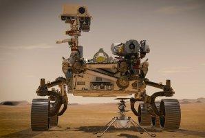 Perseverance na Marsu Autor: NASA