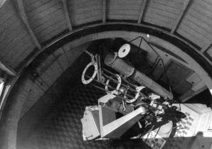 Hlavni kopule Hvězdárny v Úpici v 70-tých letech 20. století Autor: Archiv Hvězdárny v Úpici