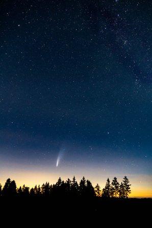 Kometa Neowise Autor: Filip Stehlík