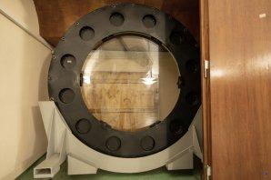 Schmidtova korekční deska dalekohledu Alfred Jensch na Observatoři v Tautenburgu Autor: Zdeněk Bardon
