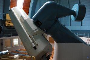 Dvoumetrový dalekohled (průměr zrcadla) observatoře Shamakhy, Ázerbájdžán Autor: Zdeněk Bardon