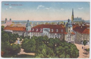 """Plzeňské """"Klementinum"""" i tak můžeme hovořit o budově ve Smetanových sadech, kde sídlilo K. K. Gymnasium (1784-1924) a Filozofický ústav (1804-1850), na kterém působil Josef František Smetana. Autor: Archív Josefa Jíry"""